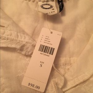 Anthropologie Tops - ❄️ 3 for $15, Anthropologie white top